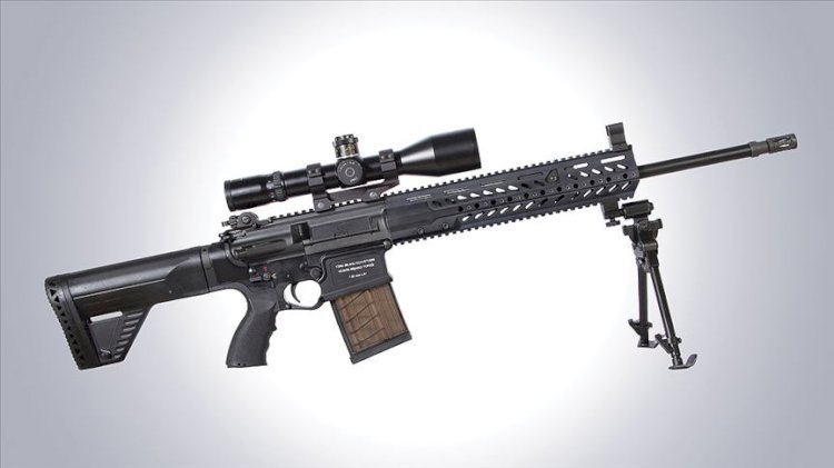 KNT-76 Yeni Keskin Nişancı Tüfeği Envanterde