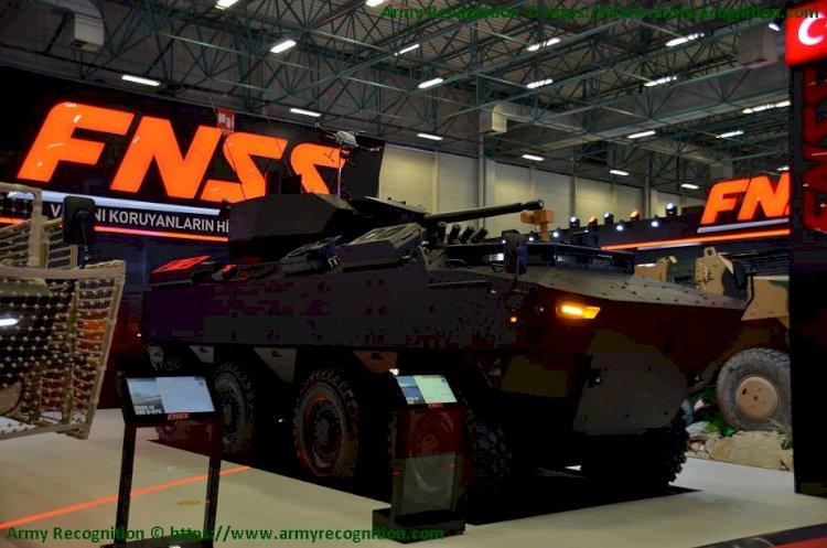 FNSS IDEF'21'de Yeni PARS IV – 8×8 Tanıtıldı